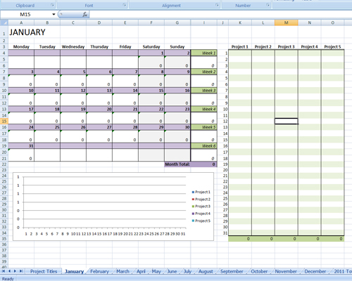 2014 Writing Progress Spreadsheet – Jamie Raintree