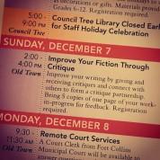 Event: Improve Your Writing Through Critique