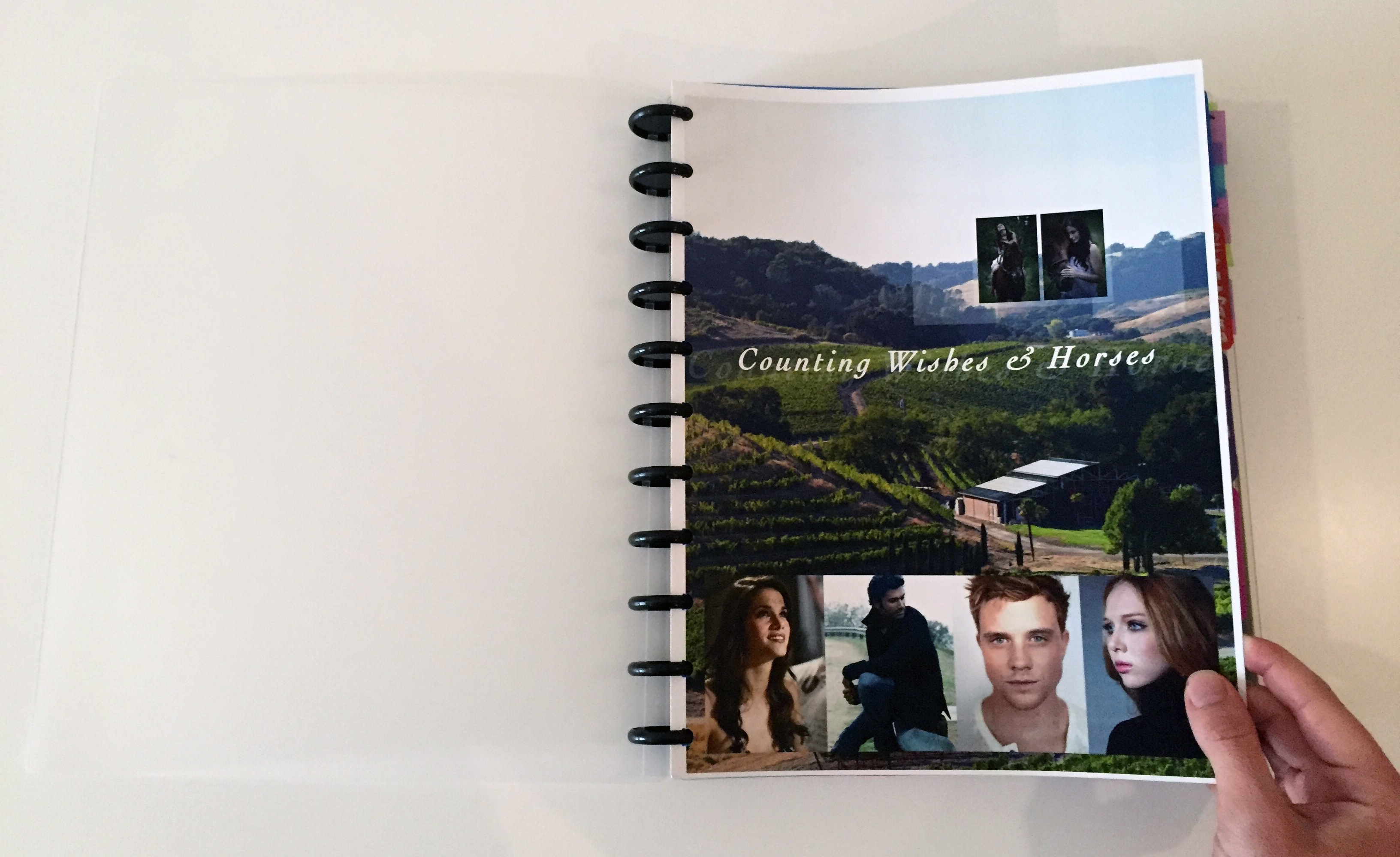 Jamie Raintree's Arc Story Notebook