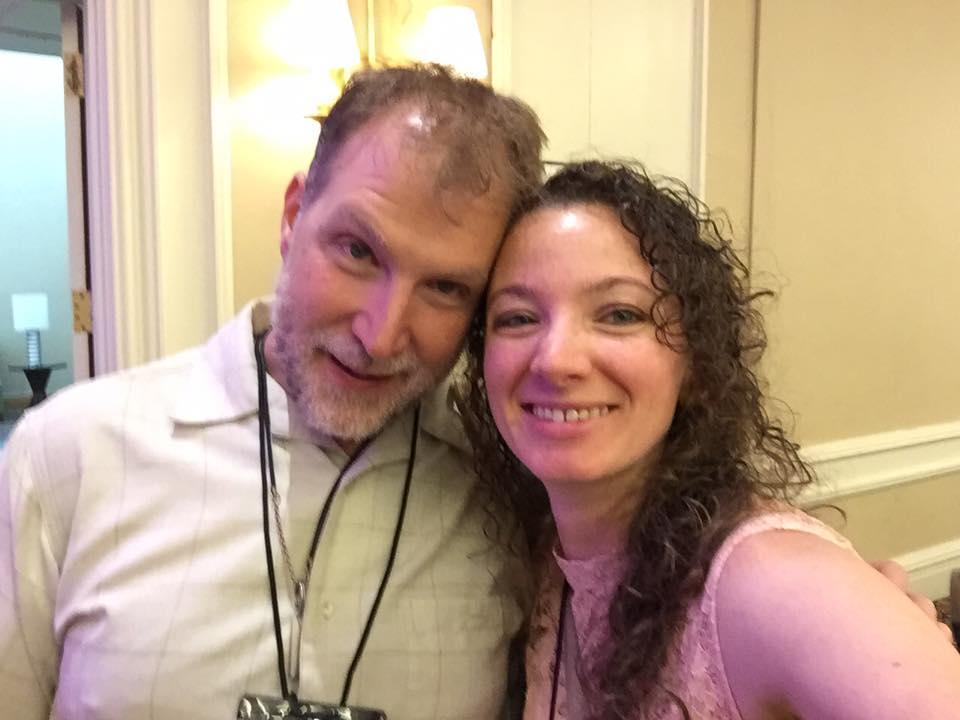 Aaron Michael Ritchey and me